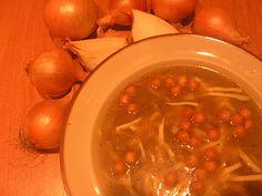 Francuska zupa cebulowa według przepisu Sophie Dahl
