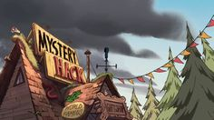 Gravity Falls S1E14 background art