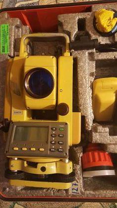 estación total sokkisha nts-325 topografía 1 segundo usada