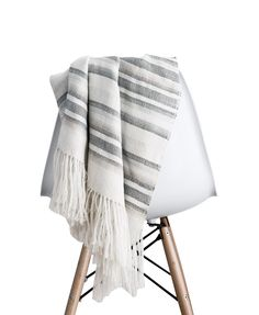 Gifts For The Design Lover // Grey San Pedro Throw (The Citizenry's Gift Guide 2014)