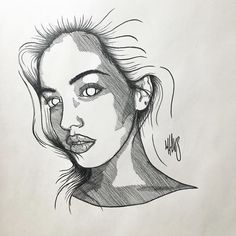 Cross hatching by MXDVS - Wolfie Cindy