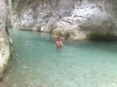Kayaking on the Acheron River