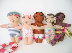 Katreinerle dolls #dawanda http://knuffelsalacarteblog.blogspot.nl/