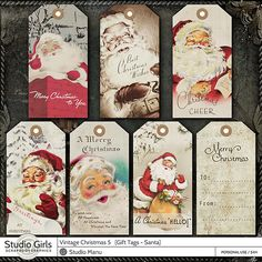 42 Ideas For Vintage Christmas Tags Printable Products Christmas Gift Tags Printable, Holiday Gift Tags, Vintage Tags, Love Letters Image, Old Fashioned Christmas Gifts, Postcard Wedding Invitation, Diy Crafts Vintage, Scrapbook Designs, Scrapbook Supplies