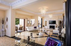 Pandis Palace Luxury seafront holiday Villa in Crete Crete Chania, Palace, Villa, Luxury, Furniture, Gallery, Holiday, Home Decor, Vacations