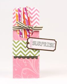 Surprise Treat Holder from Style Essentials Collection. #echoparkpaper