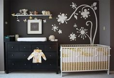 Simple baby room idea