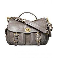 Coach sheepskin shoulder bag