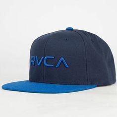 RVCA Twill II Mens Snapback Hat
