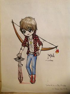 TheBajanCanadian kaylaigh for you just mitch but for you :D he is portecting you in Hinger Ganes
