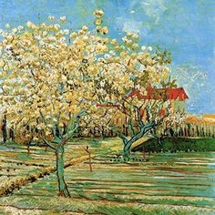Vincent Van Gogh, Orchard in Blossom, 1888