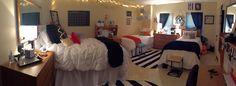 Baylor Collins triple dorm room. ruthcollins baylor tripleroom dorm