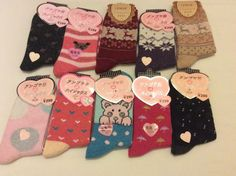 Job lot 10pairs women wool socks warm winter comfortable socks Uk Seller