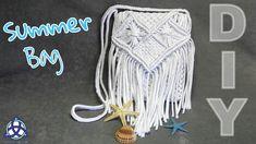 How to make Macrame Summer Bag DIY | SUMMER CRAFT BAG