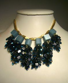 Midnight-Star Necklace Collar by Mimi Scholer