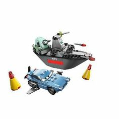 LEGO?? Escape At Sea Playset by LEGO. $25.00. cars 2 lego set. 159 pieces. Master British spy Finn McMissile is being pursued by evil Professor Z on his stealth battle boat. Dive into the depths of the sea in this fantastic LEGO?? Escape At Sea Playset. This awesomely designed set of LEGO?? blocks combines the stardom of the Disney Cars race track with the mystery of the ocean!Set contains 159 piecesIncludes Submarine Finn McMissile and Professor ZFeatures heavily equipped b...
