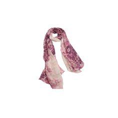 Echarpe Mescla Rose de Algodão #echarpes #lenços #lenço #scarf #scarfs