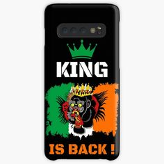 'King Is Back ! - Conor McGregor' Case/Skin for Samsung Galaxy by RIVEofficial Conor Mcgregor, Sell Your Art, Ufc, Ireland, Custom Design, Samsung Galaxy, Colours, King, Phone Cases