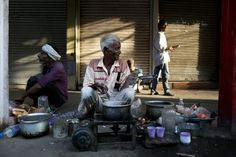 After photographs of a Pakistani tea seller went viral, Indian tea sellers share their stories - and their dreams.