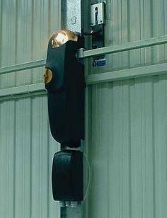 Motores para puertas basculantes de 1 hoja de muelles laterales no desbordantes, puertas de contrapesos o muelle central superior no desbordantes.
