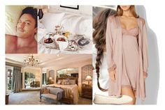 """""""Surprising Fred with breakfast in bed in the early morning hours of Sunday"""" by marywindsor ❤ liked on Polyvore featuring STELLA McCARTNEY, Eberjey, Børn and Patricia Green"""