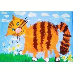"""""""Рыжий кот"""" Рома Ц., 4 года #рисуем#рисуютдети#детирисуют#кот#котейки#котэ#рыжийкот#маленькиехудожники#талант#талантливыедети#юныйхудожник#kids#drawing#drawingkids#childrens#childrensart#childrenscreativity#art#instaartist#artcat##cats#cat#artist#littleartist#smallartist#artforkids#kidswork#instacat"""