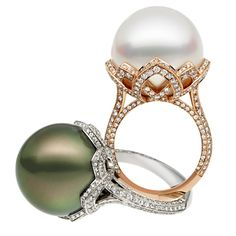 Arabesque Unique Pearl Ring