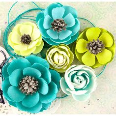 Found it at Blitsy - Prima Marketing Royal Menagerie Mulberry Paper Flowers - Louise
