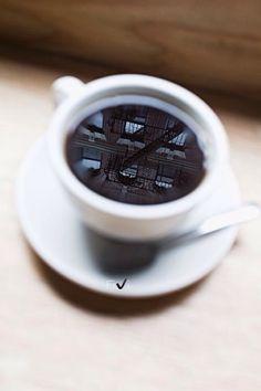 Coffee Reflection   ♥ sj ♥