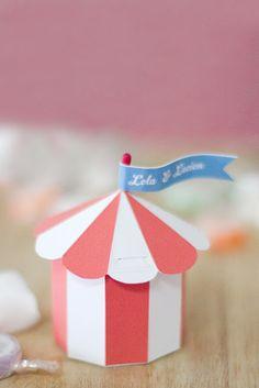 Blog My Little Party - Ideas e Inspiración para Fiestas: DIY: Cajita de Circo