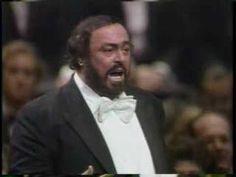 """Pavarotti """"Ch'ella mi creda"""""""