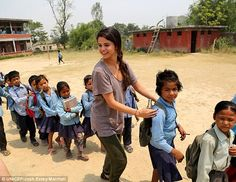Growing up: Selena Gomez visits Nepal as UNICEF Ambassador to bring attention to children in need within the country and across the globe