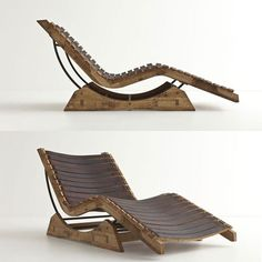@Joseph Brown  A lounge chair made from barrels of wood, patio worthy.. COULD you use a pallet?