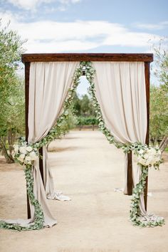 Draping and garland. Lux Events And Design. Photography: Megan Welker Photography - www.meganwelker.com