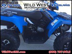 New 2017 Polaris Sportsman 110 EFI Velocity Blue ATVs For Sale in Colorado.