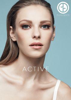 ACTIVE es el nuevo concepto de belleza natural EVAGARDEN. Una concentración de tecnologia avanzada y extractos naturales, para una mujer moderna que exige practicidad y eficácia para tratar los desafíos diarios.