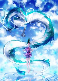 Spirited Away by yuuike.deviantart.com on @DeviantArt