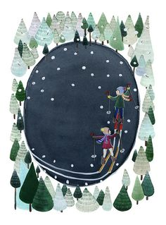Love Anna Emilia's work. So detailed + Nordic inspired. | Anna Emilia Laitinen. Finlandia