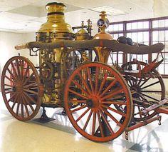 1873 Ahrens 2nd size  Steam Fire Engine Hamilton Ohio