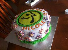Zumba® cake!