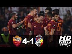 As Roma vs Viktoria Plzen 4 1 ● Highlights & All Goals ● UEL November 2016
