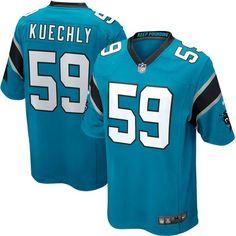 Youth Carolina Panthers Luke Kuechly Nike Panther Blue Alternate Game Jersey