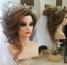#корона #невеста #фата #мейк