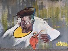 TravelMarx: A Sample of Cagliari Street Art  - ManuInvisibile