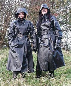 Cheap Rain Jacket Women S Refferal: 6902824240 Green Raincoat, Hooded Raincoat, Raincoats For Women, Jackets For Women, Black Mac, Heavy Rubber, Black Rubber, Rubber Raincoats, Rain Jacket Women