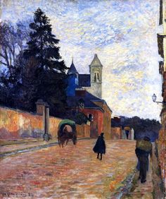 Street in Rouen Paul Gauguin - 1884. Professional Artist is the foremost business magazine for visual artists. Visit ProfessionalArtistMag.com.- www.professionalartistmag.com
