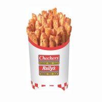 Nom nom!  Copycat recipe for Checkers/Rally's Fries!