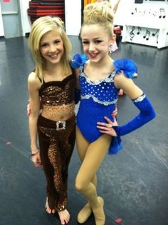 Paige and Chloe of Dance Moms