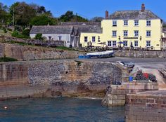 The Pier House Hotel And Restaurant In Charlestown St Austell Cornwall Seaside Cafe