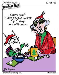 Maxine — Christmas wish